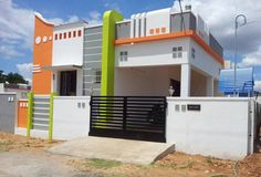 Ssgh In Chengalpattu Independent House/villa For Sale At Chengalpattu, Chennai House Outer Design, House Front Wall Design, Single Floor House Design, House Outside Design, Modern Small House Design, Village House Design, Kerala House Design, Front Design, Independent House