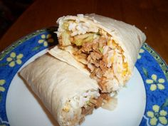 Beef Burritos with Cliantro Lime Rice~T~ This is good for burritos, tacos etc. The meat cooks in the crockpot and you cook the rice just before the meat is ready.