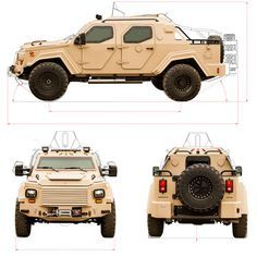 Gurkha RPV Armored Vehicle