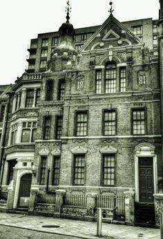 The skin hospital John Bright street Birmingham,  built in 1881