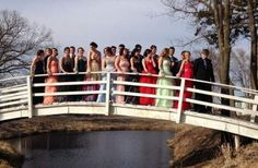 A Group Prom Picture for the Ages
