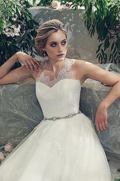 Well Dressed: Swoon Worthy Bridal Collection by Elbeth Gillis via @BridalLand