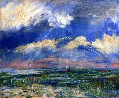 The Tower of Lissewege  James Ensor -