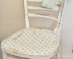 Cute idea for one of your chairs....