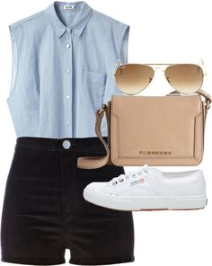 Nice and casual, but still classy. Definitely white Chucks instead of whatever those shoes are, though.