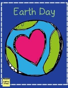 Earth Day and a Freebie - Easy Teaching Tools Earth Clipart, Information About Earth, Earth Day Images, School Clipart, Writing Lessons, Grammar Lessons, Kindergarten Activities, Preschool, Planner