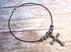 Cross necklace Christian necklace Christian by HeavenlyTreasuresLG