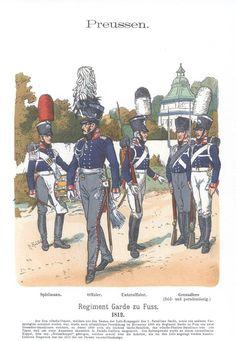 Band XI #36.- Preußen. Regiment Garde zu Fuß. 1812.
