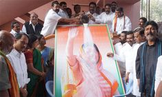 Cong activists celebrate Sonia's 68th birthday across State - read complete story click here.... http://www.thehansindia.com/posts/index/2014-12-10/Cong-activists-celebrate-Sonia%E2%80%99s-68th-birthday-across-State--120249