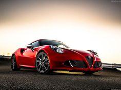 2015 Alfa Romeo 4C Coupe US-Version Red
