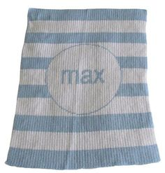 Personalized Baby Blanket - Baby Boy
