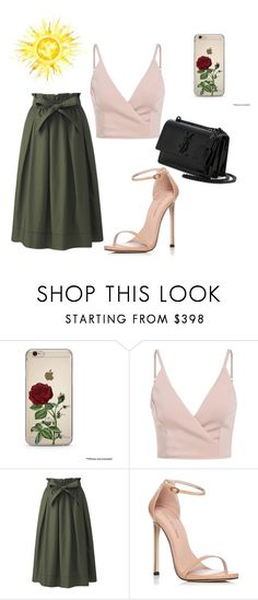 """Untitled #204"" by debbiecollinsj on Polyvore featuring Uniqlo, Stuart Weitzman and Yves Saint Laurent"