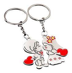 Matashi Sp/écial Saint Valentin !! Ornement Deux Coeurs avec Happy Anniversary et Support de Table 24ct plaqu/é Or Fabriqu/é avec des Cristaux