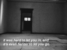 It was hard.