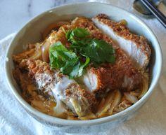 #Katsudon ~ #Japanese Pork Cutlet over Rice #Recipe