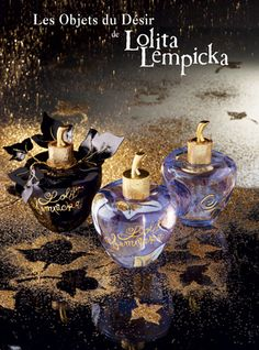 Lolita Lempicka always has the most desirable bottles <3