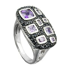 Dreambase Ring, Zirkonias lila-schwarz, Silber 925 Dreambase https://www.amazon.de/dp/B00L5A0752/?m=A37R2BYHN7XPNV