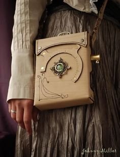"""Steampunk Navigator Bag - saw something like this at Target for $20 so I think I""""ll be getting that!"""