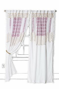 Can I have you? : Sequin Stream Curtain #anthropologie