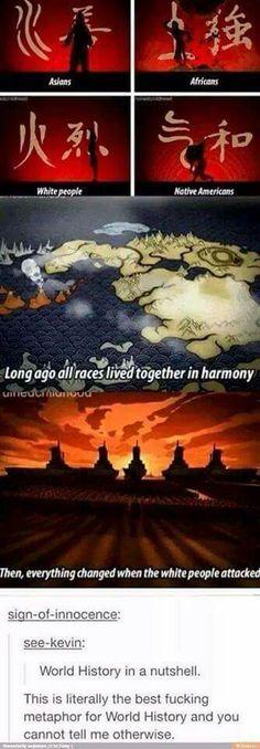 Avatar- world history in a nutshell