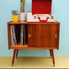 Danish Record Cabinet