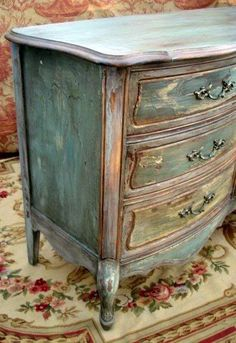 This is the colors I want to use for my house. Annie Sloan Painted Furniture, Chalk Paint Furniture, Hand Painted Furniture, Distressed Furniture, Upcycled Furniture, Shabby Chic Furniture, Shabby Chic Decor, Rustic Furniture, Vintage Furniture
