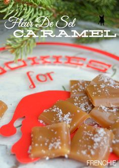 Make these delicious Fleur De Sel Caramels on frenchiewraps.com. Most delicious candy ever! #sweettreats #yummy
