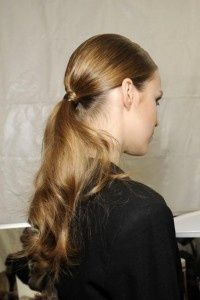Classy and girly ponytail
