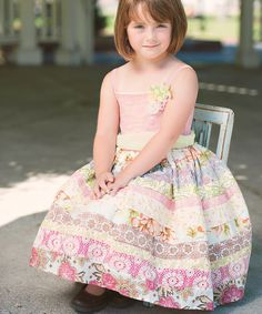 Look at this #zulilyfind! Moxie & Mabel Country Fair Rosalie Dress - Infant, Toddler & Girls by Moxie & Mabel #zulilyfinds