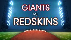 Redskins Take on New York Giants at FedEx Field, $76.00 - Save $9.80