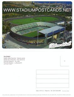 € 1,00 - code : ITA-032 - Palermo - La Favorita - stadium postcard cartolina stadio carte stade estadio tarjeta postal