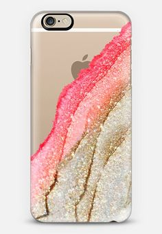 FLAWLESS CORAL & FAUX GOLD by Monika Strigel iPhone 6 iPhone 6 case by…