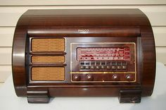 Antique Vintage Philco Model 42 355 Tube Radio