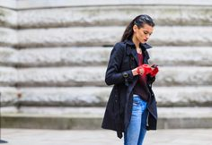 Streetlooks à la Fashion Week de Londres (c) Jonathan Paciullo