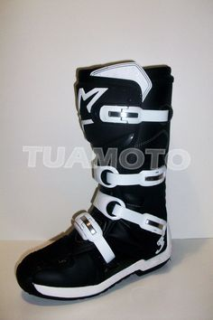 8cf2c1055a4 (4) Botas De Motocross Alpinestars Tech 3 - No Fox - Tuamoto!