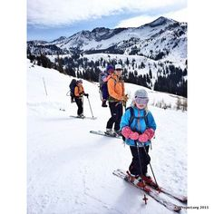 Backcountry Ski Touring with kids... [Part 1]