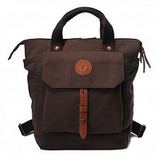 Evrawood Everton Backpack Dark Brown