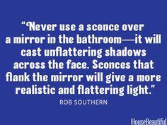 How To Hang A Mirror Over A Mantel - Interior Designer Secrets - House Beautiful