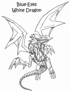 Fargelegging Yu-Gi-Oh. Tegninger 24
