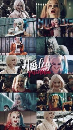 harley quinn, suicide squad, and lockscreen image