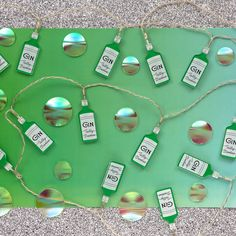 The perfect string lights for the gin lover in your life. Devine Design, Tatty Devine, Gin Lovers, String Lights, Jewelry Art, Turquoise Necklace, Cool Designs, Gifts For Her, Handmade Jewelry