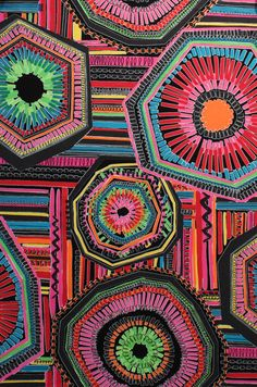 Craft work in South Africa - so colourful Pics For Fb, African Fabric, Fabric Online, Art Activities, Craft Work, Alexander Henry, Fiber Art, Printing On Fabric, Print Patterns