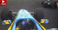 Blast From The Past: A Young Fernando Alonso Chases Down Mark Webber In Bahrain 2004 #F1 #Video