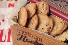 Μπισκότα με κομματάκια σοκολάτας - Η ΔΙΑΔΡΟΜΗ ®