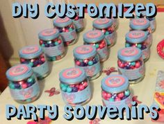 First Time Mom and Losing It: DIY Abby Cadabby Birthday Party: Customized Party Souviniers #Tutorial