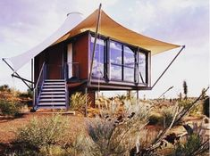 Part tent, part container home