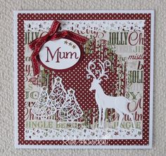 Blog Tonic: Christmas Card for Mum - Ruth
