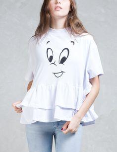 LAZY OAF Lazy Oaf X Casper Face T-Shirt