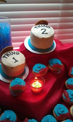 Thing 1 and Thing 2 Birthday Ideas