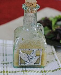 Shallot Vinaigrette Recipe ~ This is the story of a vinaigrette. A delicious, sweet-tangy vinaigrette that I adore.